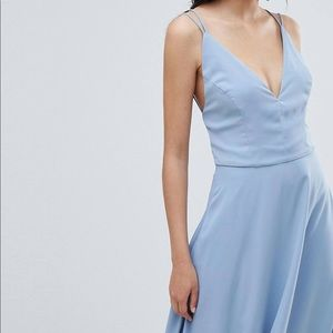 ASOS NEW LOOK STRAPPY BACK MAXI DRESS